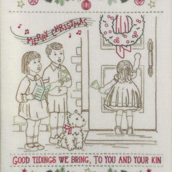 Good Tidings - a vintage Christmas stitchery
