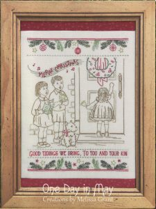 Good Tidings - A vintage Christmas project