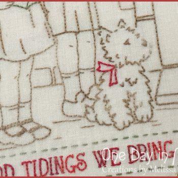 Good Tidings - Westie closeup