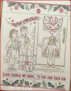 Good Tidings ~ Vintage Christmas Stitchery