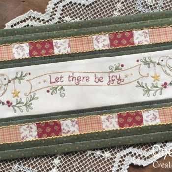 Let There be Joy - Christmas table mat