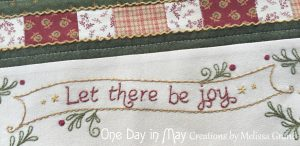 Let There be Joy - banner closeup