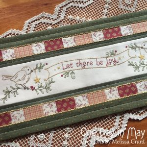 Let There be Joy - festive table mat