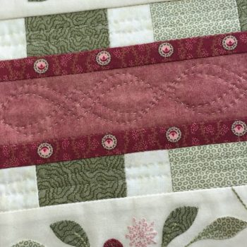 Lilly Pilly Table Runner - detail