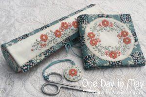 Petite Blooms Sewing Set