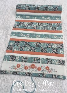 Petite Blooms - Outside of Needlework Roll