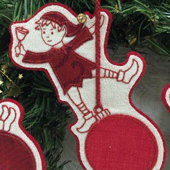 Sandy's Swinging Elves - elf with bell