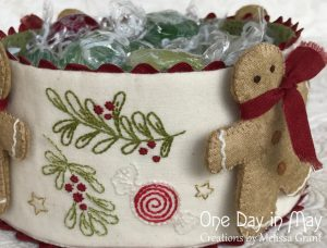 Sweet Treats - lolly, berry and branch detail