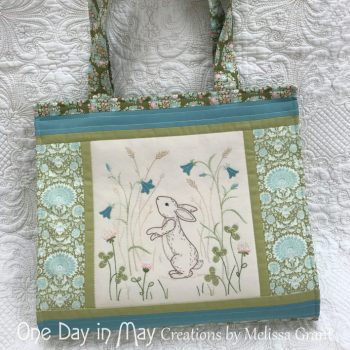 Down in the Meadow - book and pattern tote