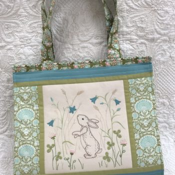 Down in the Meadow - book & pattern tote
