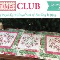 Merry & Bright ~ this month's Tilda Club