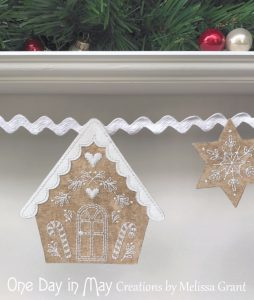 Gingerbread Lane - house 2 detail