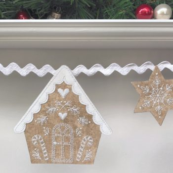 Gingerbread Lane - house 2 detail