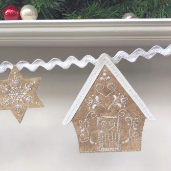 Gingerbread Lane - house 3 detail