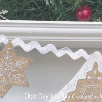 Gingerbread Lane - star detail