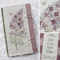 Sweet Lilacs ~ book wrap