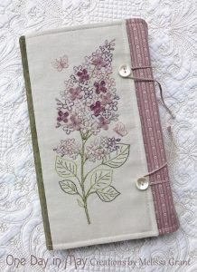 Sweet Lilacs - book wrap