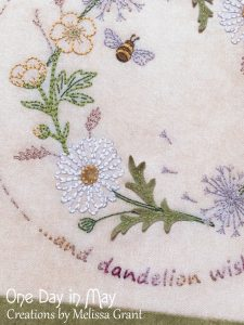Gather me a Posy ~ daisy detail