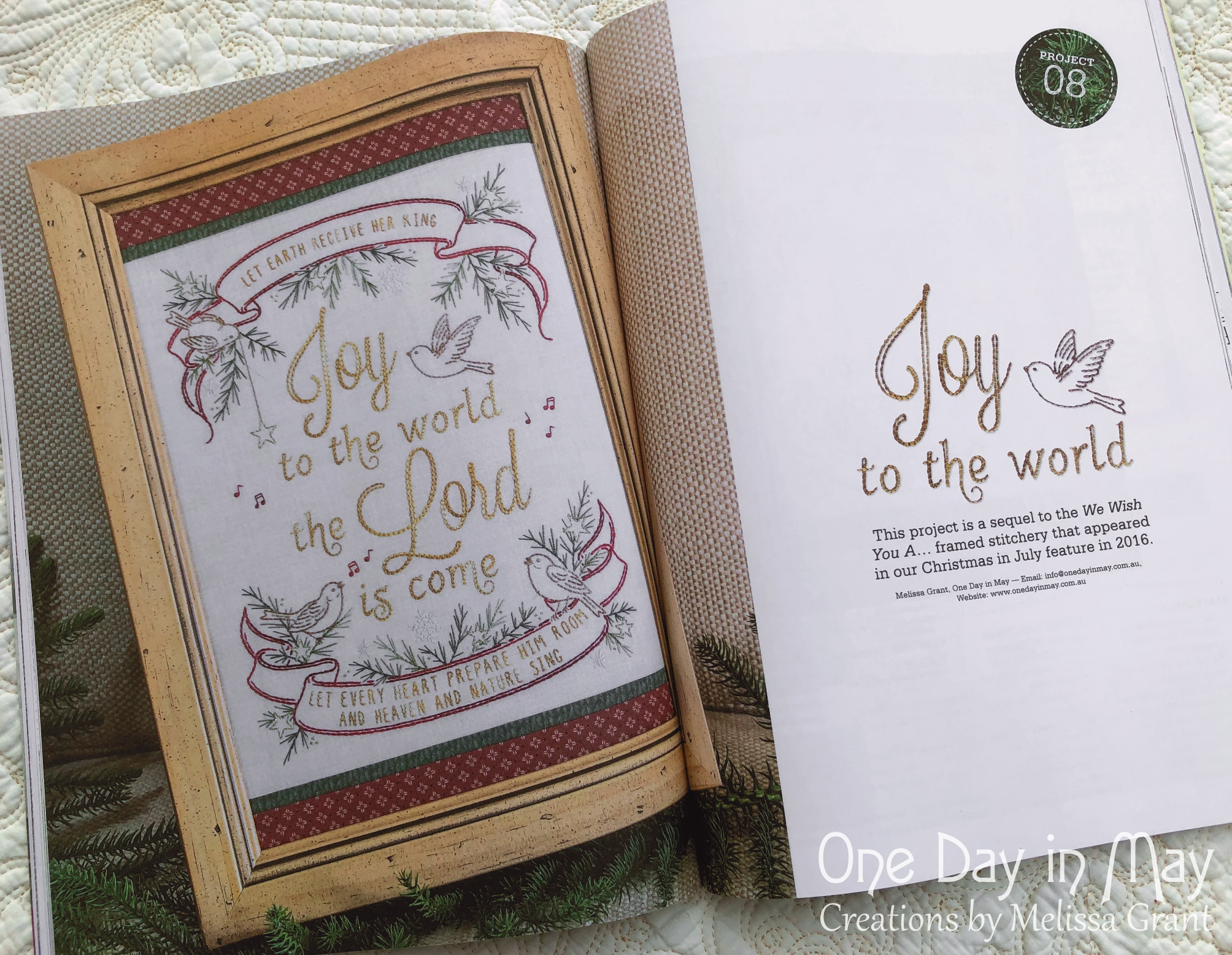 FB Joy to the World - Homespun Magazine December 2019