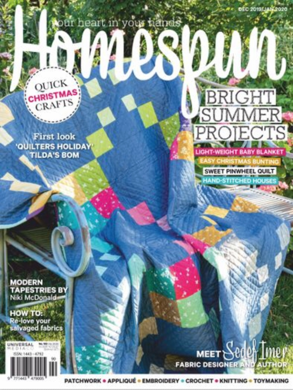 Homespun Magazine December 2019
