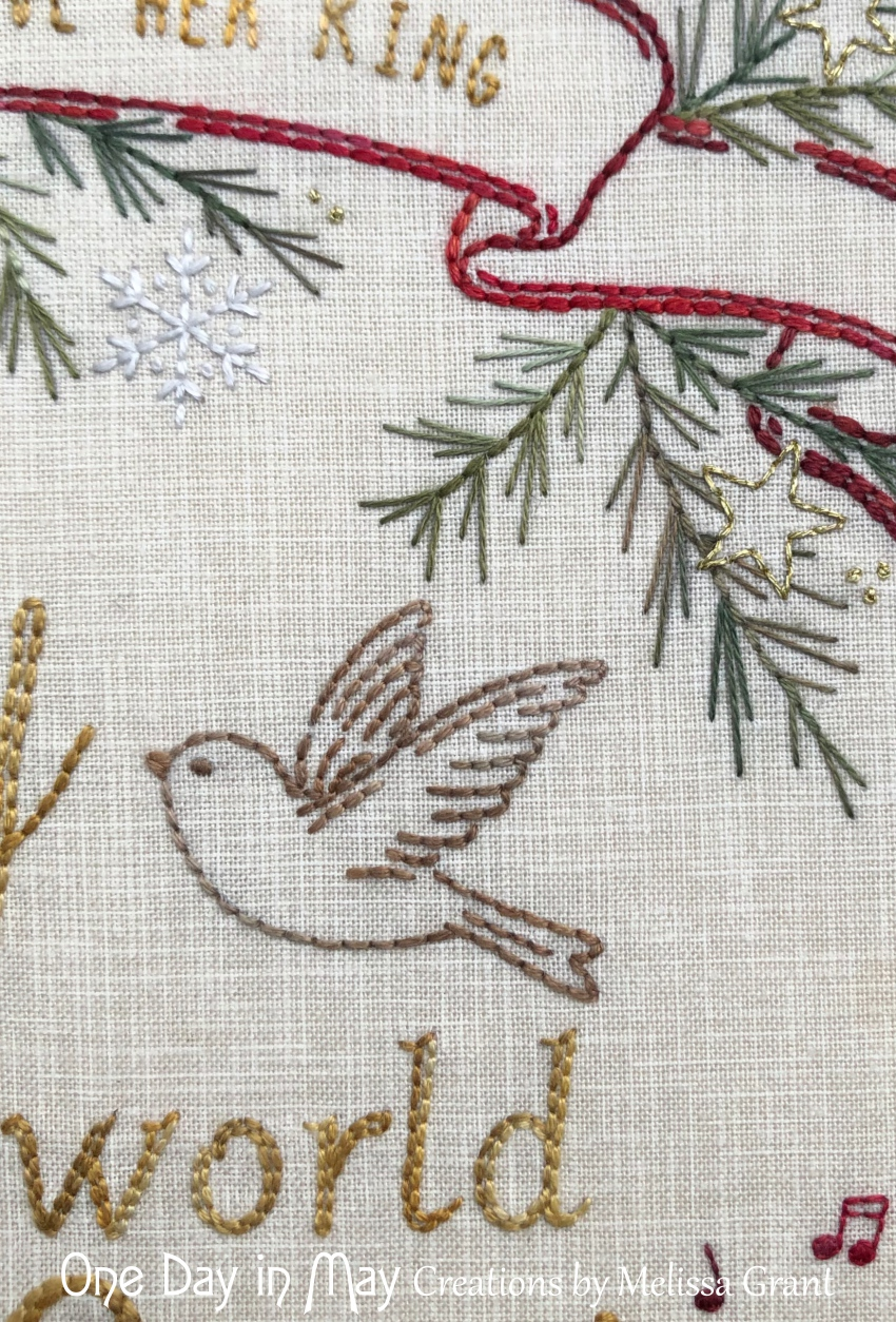 Joy to the World - bird in flight