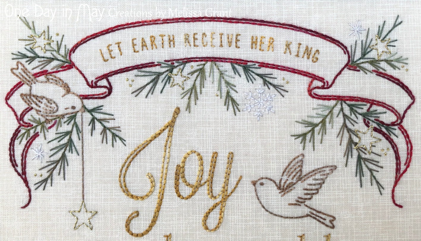 Joy to the World ~ top banner